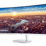 Samsung unveils world's first curved QLED monitor with Thunderbolt 3 connectivity
