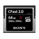 Sony adds new CFast memory cards to their line-up