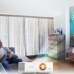 BenQ's TH585 is a Home Entertainment Projector with loud speakers
