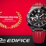 Casio adds a Honda Racing Limited Edition watch and three others to its Edifice range