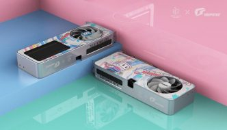 Colorful's unique iGame GeForce RTX 3060 bilibili e-sports Limited Edition GPU features a new generation design