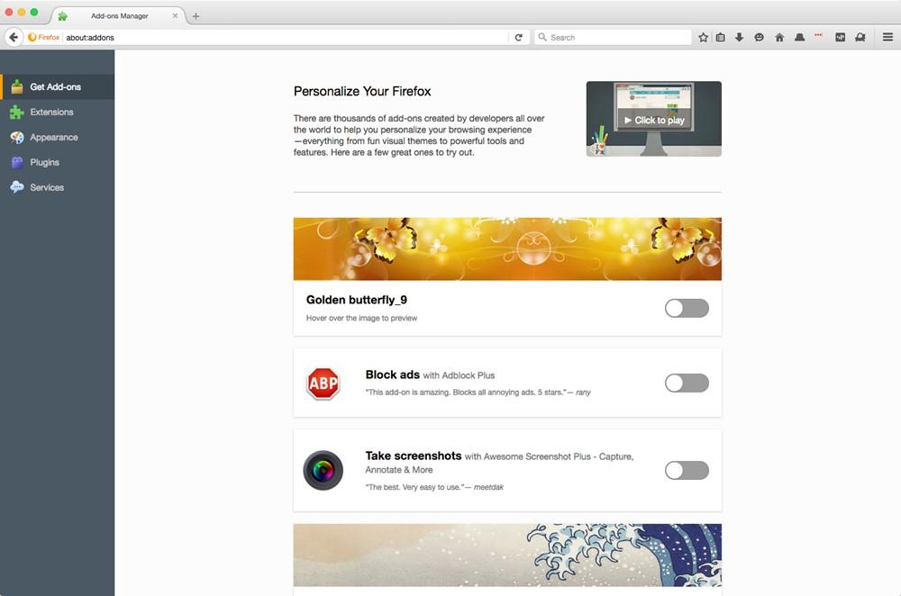 Firefox imp