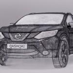 Nissan creates world's largest 3D pen sculpture