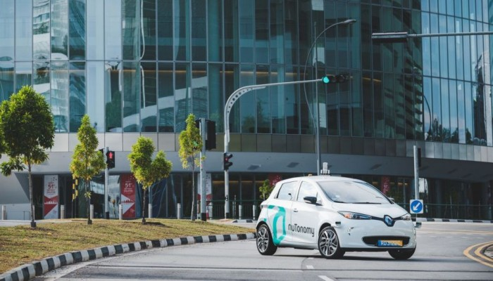 Hail a taxi in Singapore and it might just end up being a self-driving one