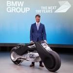 BMW reveals a self-balancing bike concept