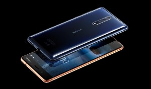 Rear of Polished Blue and front of Polished Copper