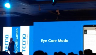 Tecno unveils Camon i with Infinity display