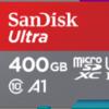Sandisk's 400GB Ultra microSDXC reaches India