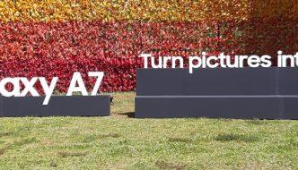 Samsung Galaxy A7 (2018) First Impressions: Triple the fun
