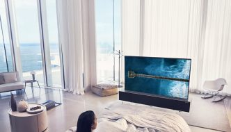 LG shows off its rollable OLED TV
