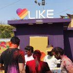 LIKE at the Holi Moo! Festival 2019
