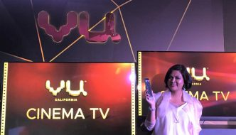 Vu launches Cinema TV with Pixelium Glass technology