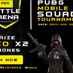 POCO teams up with Gaming Monk to start a 500-squad PUBG tournament